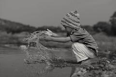 Freeze (kailas bhopi) Tags: freezeaction freeze 50mm18g kids fun water nature mothernature stopaction