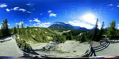 Rundle Mountain 360 (Spectacle Photography) Tags: nikon nikon360 keymission keymission360 rundlemountain banff banffnationalpark alberta canada