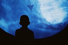Ground control to major Tom. (Nasry Kosolsak) Tags: panasonic panasonicleica 25mm f14 silhouette kid people scifi gx85