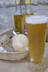 パンとビール (lulun & kame) Tags: europe ヨーロッパ ポルト ビール portugal ポルトガル porto beer lumixg20f17