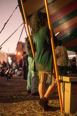 Waiting (Joy Sant'Anna) Tags: girl 50mm canon festival light night yallow show fun woman style shadow cellphone street photography brasil brazil park