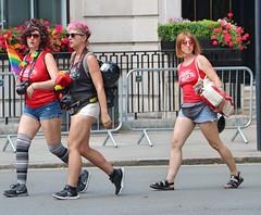 London Rockin Rollers - Pride London 2017 (Waterford_Man) Tags: londonrockinrollers pridelondon2017 rollerskater rollergirls shorts street london girls parade peoplelondonrockinrollers