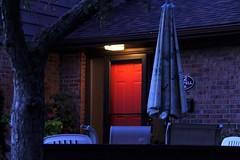 Good Night (Haytham M.) Tags: evening early light street door goodnight sleep