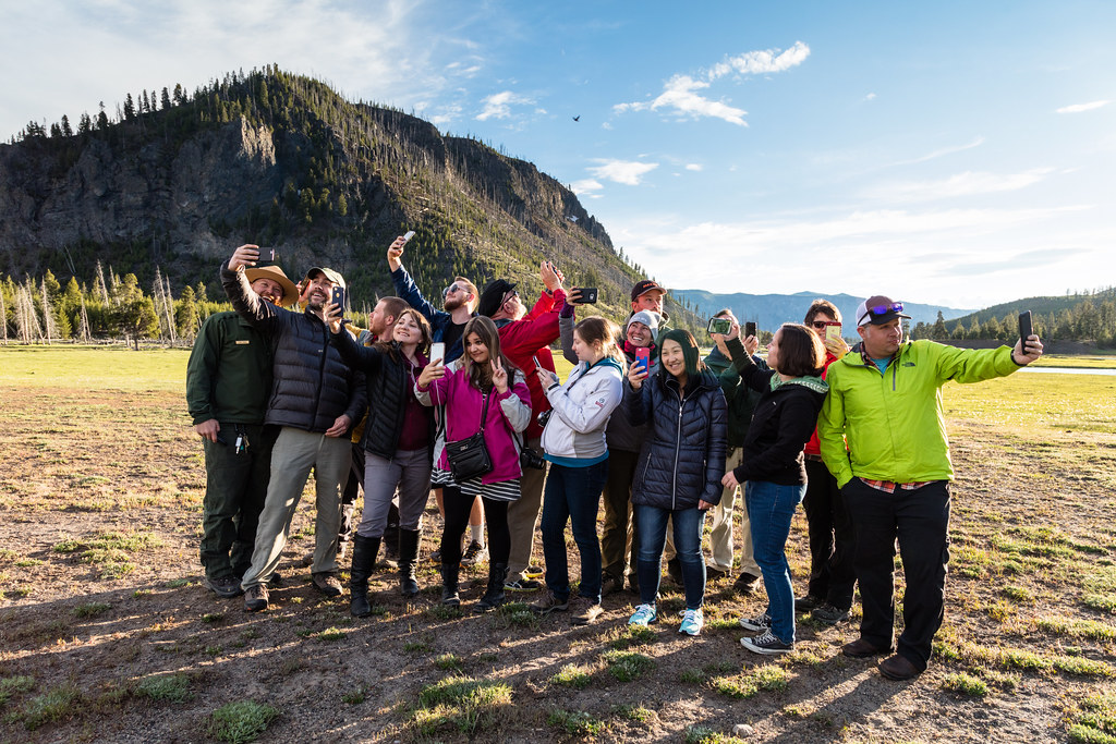 Safe selfies at Madison InstaMeet (YellowstoneNPS) Tags: instameet madison yellowstone  landscape ranger spring - The World's Best Photos Of Ranger And Yellowstone - Flickr Hive Mind