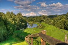 Ein Sommertag (berndtolksdorf1) Tags: landschaft thüringen deutschland wolken hdr landscape sommer jahreszeiten outdoor