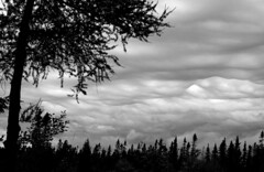 Storm Clouds (B2 Photography) Tags: clouds bw storm ominous blackwhite michigan up