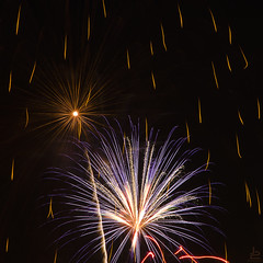 Fire Flowers (Jersey JJ) Tags: fire flowers fireworks explosions bomb bursts j2 july4th indepenance day usa