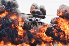 Apache AH1 (martipa) Tags: nikon d810 sigma 150600mm aac apache ah1 attack helicopter rnas yeovilton airshow flames