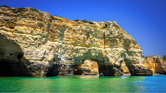 the Elephant of Marinha Beach (alexmcfarlane) Tags: beach portugal marinhabeach praia algarve alvor lagoa rocks rock seascape landscape rockformations rockformation elephant ocean sea praiadamarinha