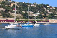 Villefranche sur mer, Cote d'Azur (jackfre 2) Tags: france viilefranchesurmer côtedazur villas luxuriousresidences port citadel oldtown colourful