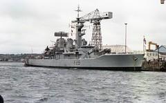 HMS Cleopatra (F28), Leander-class frigate (bertie's world) Tags: 1979 royal navy cleopatra hmnb devonport f28 leander class frigate
