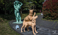 2017 - Korea - Jeju Loveland - 8 of 14 (Ted's photos - For Me & You) Tags: 2017 cropped jeju korea nikon nikond750 nikonfx southkorea tedmcgrath tedsphotos vignetting sculpture screwing dogstyle fornicating dogs embrace