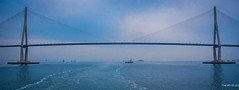 2017 - Korea - Incheon Port - 2 of (Ted's photos - For Me & You) Tags: 2017 cropped korea nikon nikond750 nikonfx seoul tedmcgrath tedsphotos vignetting incheonbridge bridge incheondaegyoexpresswaybridge incheondaegyo incheondaegyobridge hangul인천대교rrincheondaegyo wideangle