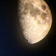 Taken from china camp w 3 inch refractor and iPhone held up to eyepiece #moon #telescope #refractor #astrophotography (Roxie's Flickr) Tags: instagram june 03 2017 0409pm taken from china camp w inch refractor iphone held up eyepiece moon telescope astrophotography httpswwwinstagramcompbu5tqcujilo