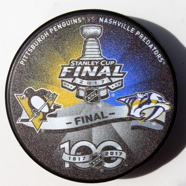 2017 Stanley Cup Finals puck