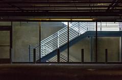 LACMA Parking Garage (Robert Borden) Tags: goodlight parkinggarage stairwell lacma la losangeles socal california labrea usa northamerica lines texture shadows