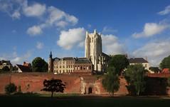 Saint Omer - Le site de la cathédrale -