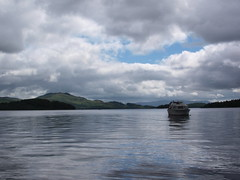 Loch Lomond (2) (Alec_MacKinnon) Tags: luss conichill lochlomond scotland loch boat hill clouds