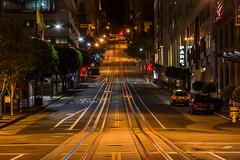 California Street - 3:39 AM - San Francisco (vision63) Tags: california street san francisco norcal road night bayarea traffic
