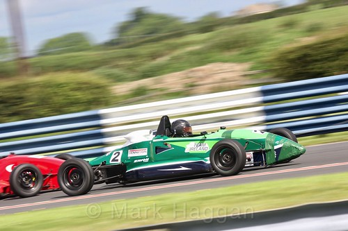 James Roe in the Formula Ford FF1600 championship at Kirkistown, June 2017