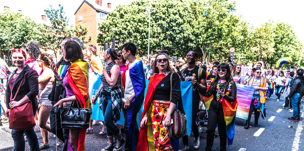 LGBTQ+ PRIDE PARADE 2017 [ON THE WAY FROM STEPHENS GREEN TO SMITHFIELD]-130055
