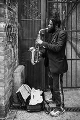 Jean-Claude (Bulent Acar) Tags: jeanclaude portobello saxophone