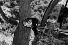 """"""" miroir , mon beau miroir ... (delph.) Tags: eus pyreneesorientales reflet fiat500"""