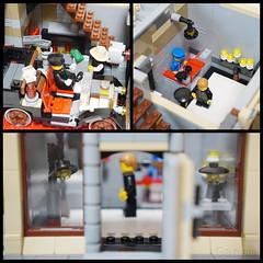 lego10232 alternative build(4) (InyongLee) Tags: lego lego10232 10232 palacecinema steampunk alternativebuild 10232alternativebuild 10232alternate legomodular building legobuilding lightshop