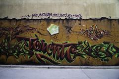 Welcome to Toronto (aerojad) Tags: eos canon 80d dslr 2017 city urban art artinpublicplaces streetart publicart mural murals graffiti vacation travel wanderlust graffitialley toronto canada vibrant colorful