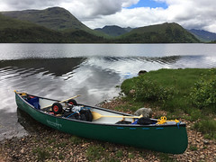 Loaded (What I saw...) Tags: loch arkaig scotland highlands canoe trip open canadian prospector hou camping