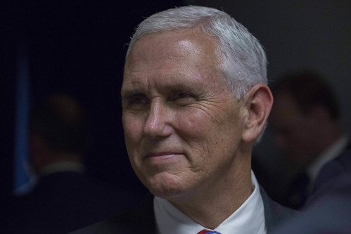 From flickr.com: Vice-president Mike Pence {MID-245388}