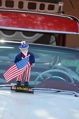 4th of July car show (quinn.anya) Tags: carshow unclesam flag godblessamerica classiccar santafe