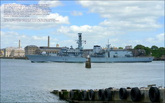 HMS Sutherland (F81) (PAUL Y-D) Tags: hmssutherlandf81 warship frigate navalship devonport plymouth
