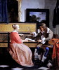 IMG 8831B Gabriel Metsu  1629 1667   Leyde   A Man and a Woman seated by a Virginal  Un homme et une femme assis   un Virginal vers 1660      Londres National Gallery
