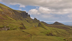 A busy day on the Quiraing.. (Harleynik Rides Again.) Tags: thequiraing isleofskye highlands westernisles mountains harleynikridesagain explore inexplore