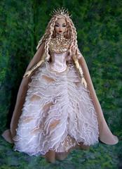 Goddess of the Woods Misaki (kingkevin) Tags: ladyofthewhitewoods forest goddess whitewoods barbie pureevil evil misaki nipponmisaki frnippon fashionroyalty mcqueen alexandermcqueen mcq