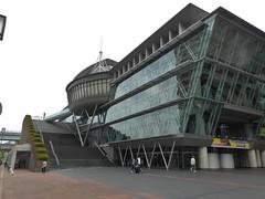 Sasebo Concert Building (m_artijn) Tags: sasebo concert buidling jpn futuristic cloudy bright architecture
