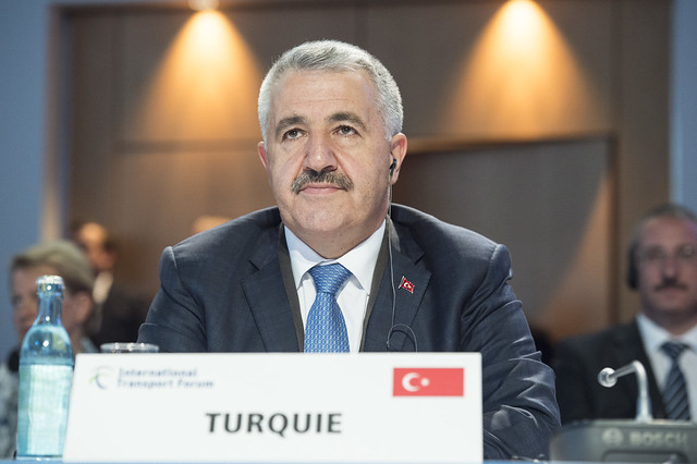 Ahmet Arslan in attendence