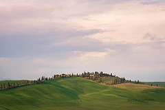 DSC_0081.jpg (saladino85) Tags: landscape sunset hilltop italy hills holiday tuscana blue tuscany scenery beautiful trees green rollinghills different corsano sunrise