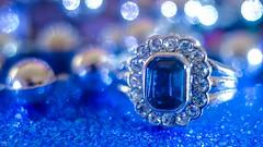 smile on saturday - jewels (YᗩSᗰIᘉᗴ HᗴᘉS +6 000 000 thx❀) Tags: smileonsaturday jewels bague bijou objet blue ring anneau pierre bokeh hensyasmine