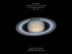 Saturne Juillet 2017 (astrorock999) Tags: solarsystem systèmesolaire saturne saturn planet planète planetary planétaire imagerie imaging asi224mc zwo c11