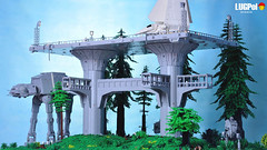 079 - Endor by day (dmaclego) Tags: lego star wars forest sanctuary moon endor project return jedi moc