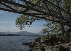 Bridge over the Loch (jbc58) Tags: loch lomond scotland milarrochy bay balmaha