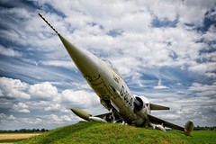 Grounded for life (Photodoos) Tags: plane f104 starfighter jet
