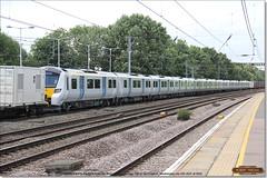 Brand new 700120 is dragged south through Huntingdon, July 12th 2017 b (Bristol RE) Tags: 6x70 700120 700 class700 45201 huntingdon
