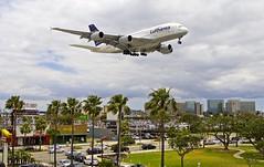 LAX/KLAX: Lufthansa Airbus A380-841 D-AIMB (Roland C.) Tags: daimb boeing b747 b7478 b747800 lufthansa lh dlh lax klax airport losangeles losangelesinternational california usa