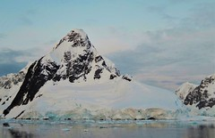 Evening Light, Antarctic Peninsula. (Ruby 2417) Tags: antarctica antarctic peninsula coastline mountain glacier