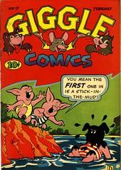 Giggle Comics 17 (Michael Vance1) Tags: comics comicbooks cartoonist art adventure artist anthology funnyanimals fantasy funny goldenage
