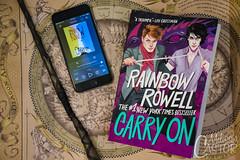 Carry On - Rainbow Rowell (melissa.castor) Tags: carryon carry book books bookstagram rainbow rowell reading audiobook magic