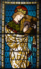 King David (1875) (Simon_K) Tags: ely cambridgeshire cambs eastanglia cathedral window glass stained sgm nikon d5300